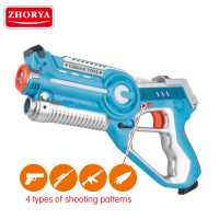 Zhorya 2018 2 pack laser tag gun gaming set toy