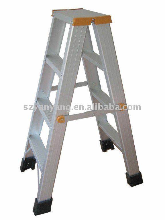 Double Side Aluminum A Frame Ladder