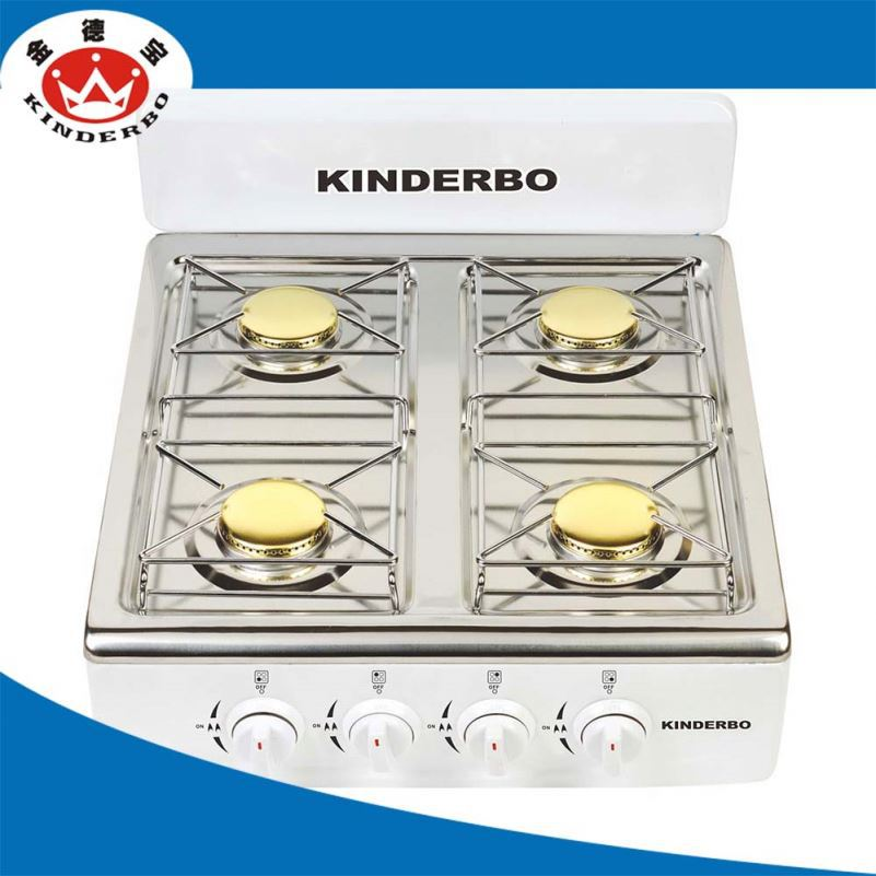 4 burner good market stainless steel stove cover