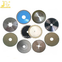 High effciency China Manufacture Electroplated diamond tools diamond/CBN saw blade/cutting disc for glass/stone/jewelry