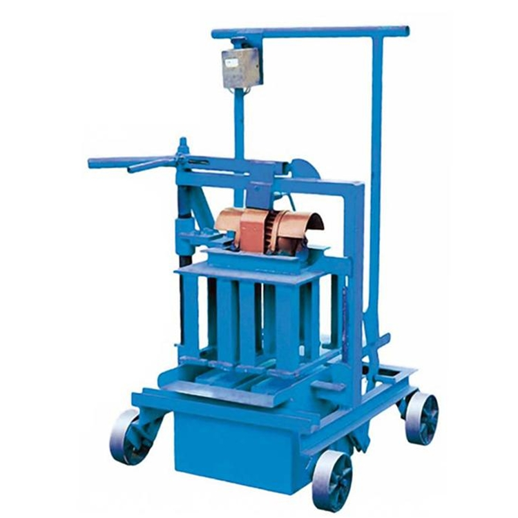 Alibaba Trade Assurance mobile QM40A hollow block machine price