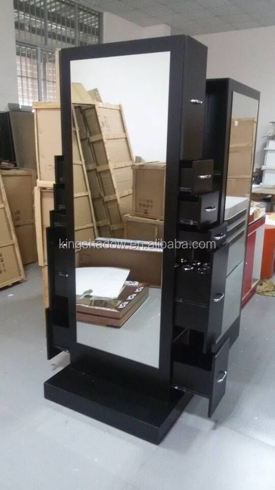 2017 so cheap beauty salon equipment mirrors salon makeup mirror with more drawer buy makeup. Black Bedroom Furniture Sets. Home Design Ideas