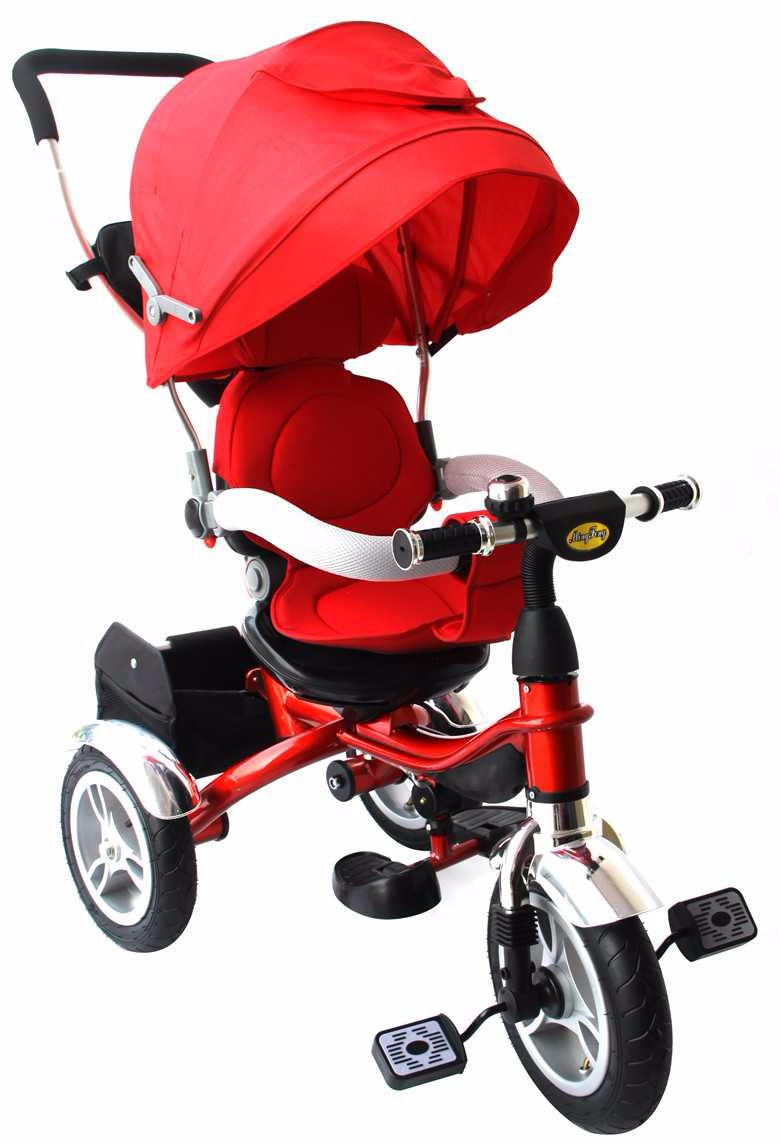 baby stroller tricycle with pushbar for kids and mothers