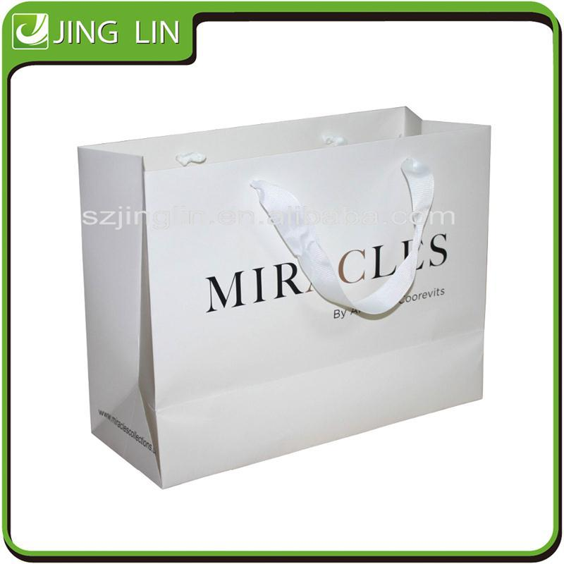 Personalized eco-friendly Stone Paper Bag for famous Brand