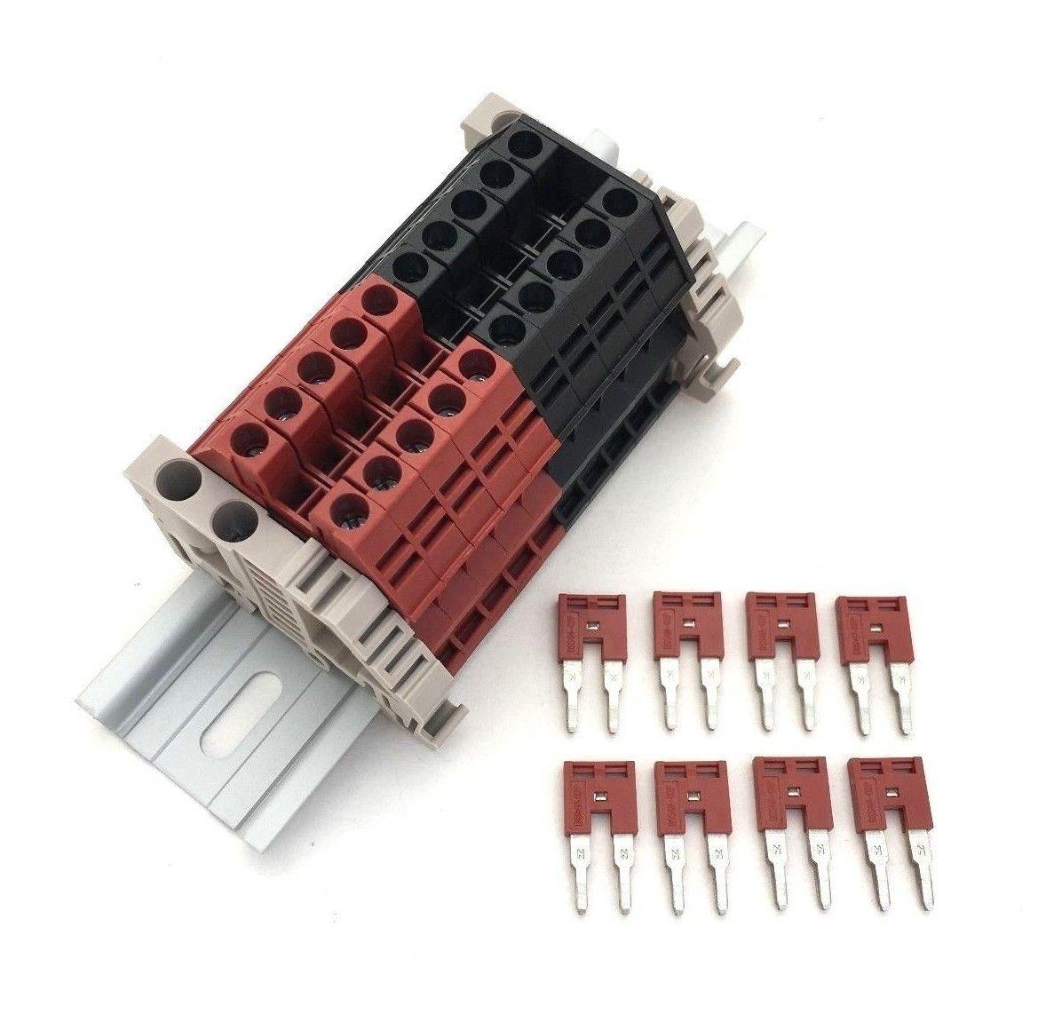 Dinkle Assembly Kit DK4N Red/Black 10 Gang Assembly Kit