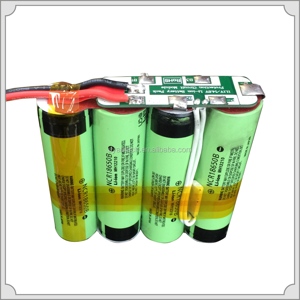 4S1P 14.8V3.4Ah Li-ion battery pack