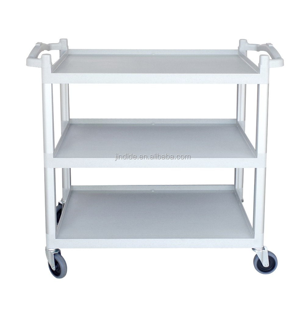 Kitchen Plastic Serving Cart Trolley Without Panels - Buy Plastic ...