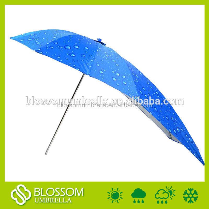 Outdoor large sun protection bike scooter scooter tricycle straight rain umbrella