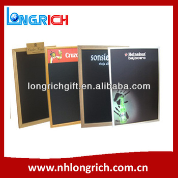 ADVERTISING WOODEN FRAME OUTDOOR BLACKBOARD