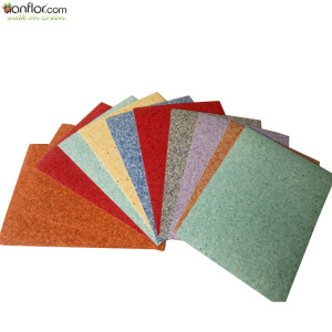 High Quality Factory Direct Homogeneous PVC Floor Mat / PVC Carpet / Vinyl Sheet Roll