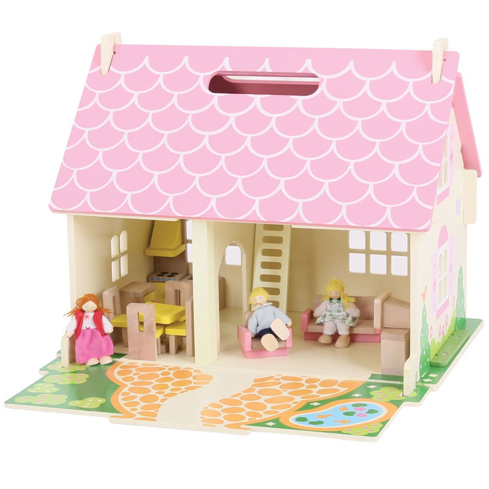 Bigjigs Toys JT123 Heritage Playset Blossom Cottage