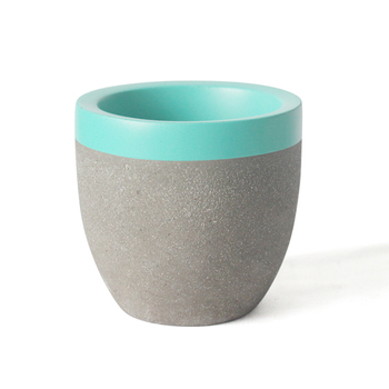 Stand Mini Concrete Planter Pots