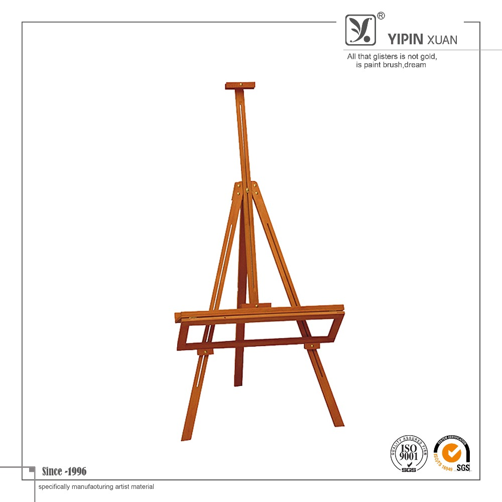Free Sample 2015 New Design Multifunction Art Wood Easel