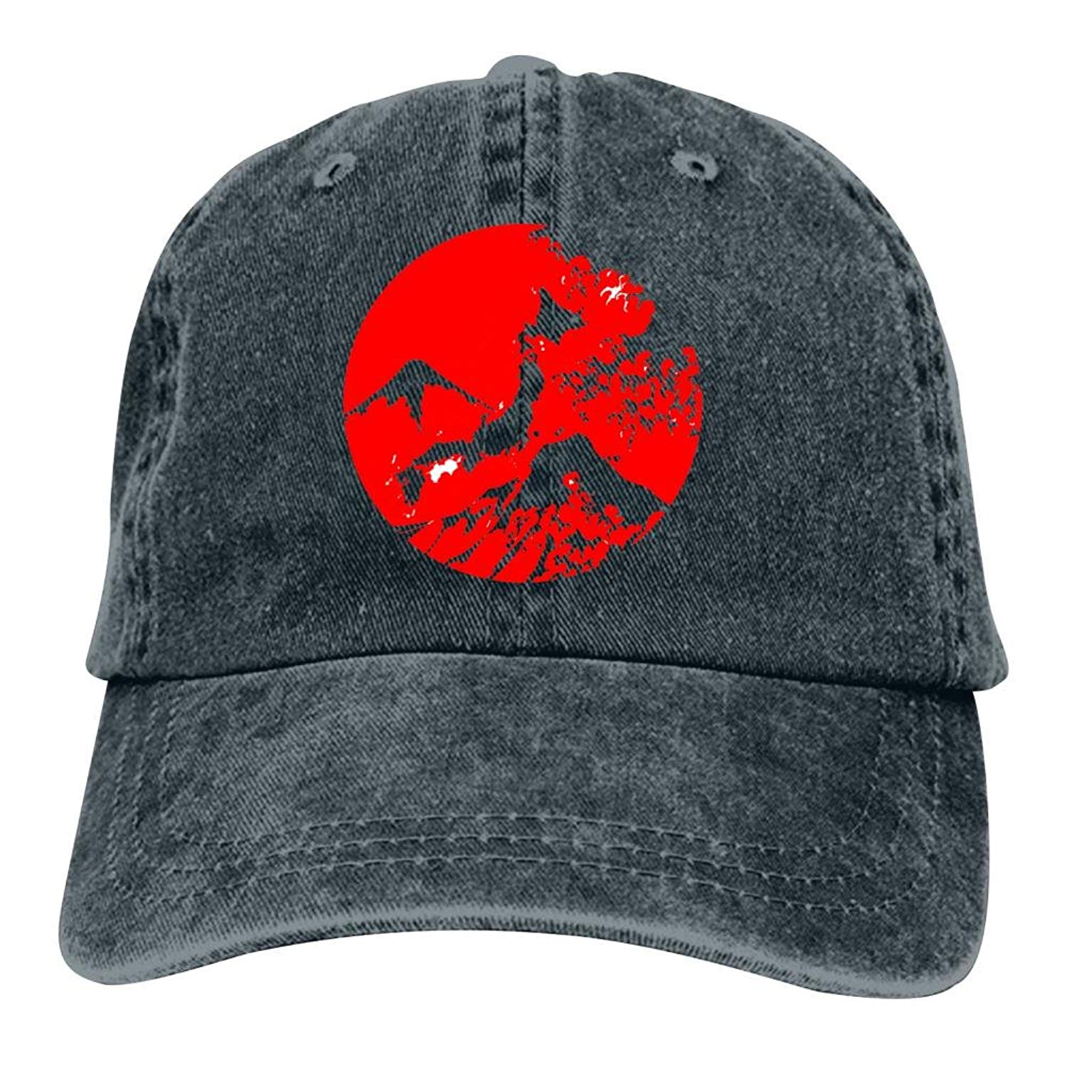 819e0a875f8c0 Ringkyo Flag Of Japan Japanese Flag Rising Sun Washed Dyed Cotton  Adjustable Cowboy Baseball Hat