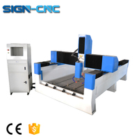 Heavy duty 3d stone carving cnc router