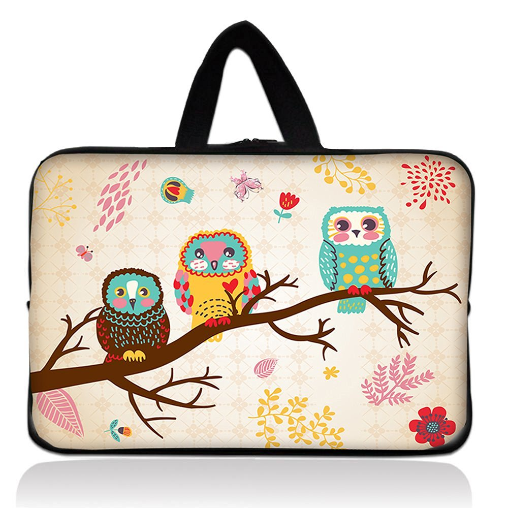 "New Arrival Cute Three Owls 7 inch Tablet Soft Sleeve Pouch Case Zipper Bag For 2013 Google Nexus 7 2nd Gen,7"" Kocaso M736 M772 Android 4.1 Tablet PC,Hisense sero 7 pro Sero 7 LT,7"" inch Tablet PC Mid Android W/Cover,HKC 7"" Capacitive Touchscreen Tablet,7in NATPC M010 M010S M009S Android Tablet PC"
