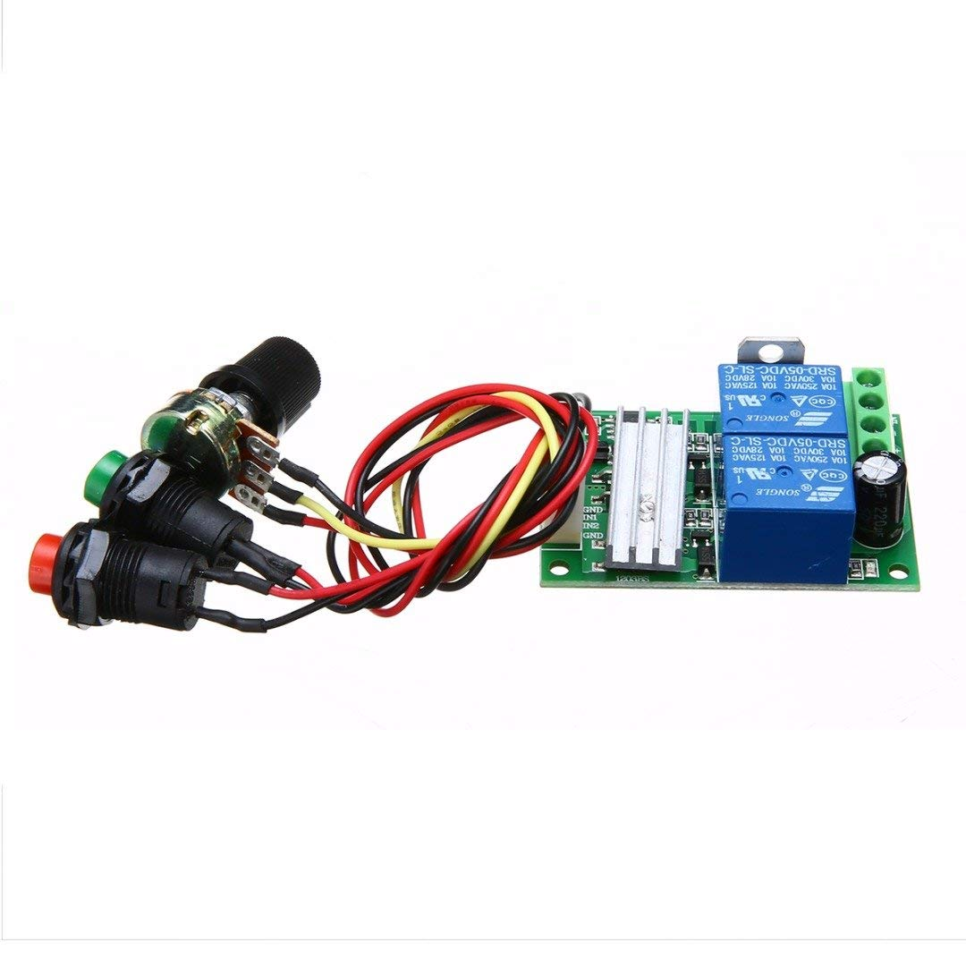 WILLAI 1 Set Universal PWM RC Motor Speed Control Regulator Controller Switch DC 6V12V24V 3A With Circuit Board Mayitr
