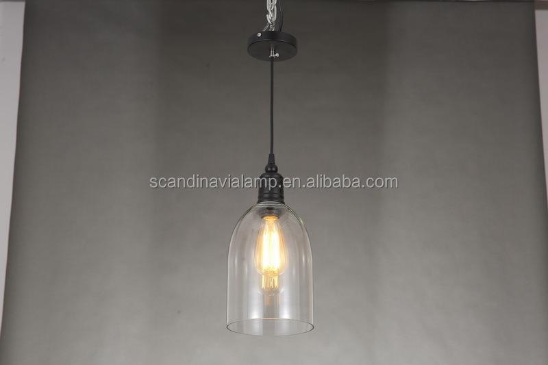 Eclectic Urban Pendant Light Clear Glass Pendant Lamp Modern ...