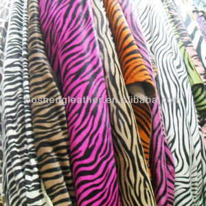 2017 POPULAR ZEBRA PRINTING LEATHER FOR LADYS WAISTBAND