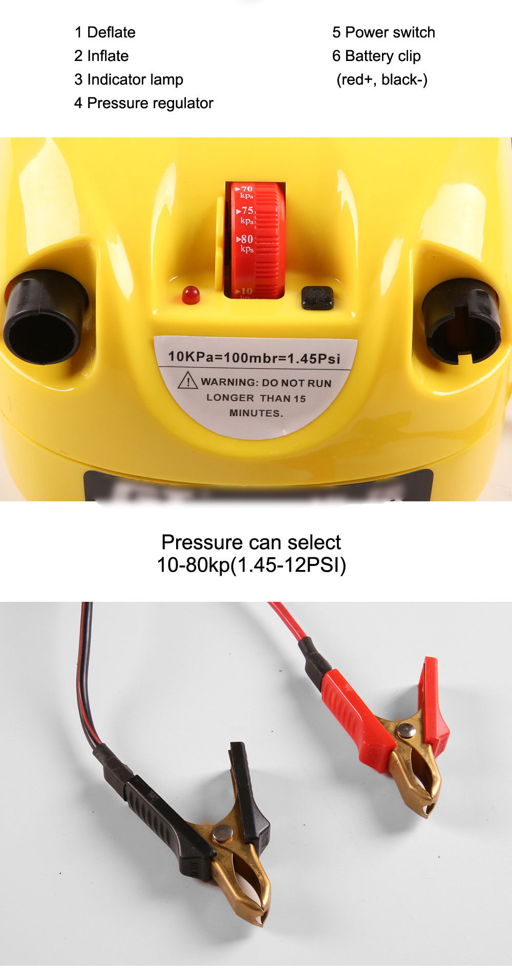 High quality single stage high pressure electric pump air pump for inflatable sups kayaks and boats