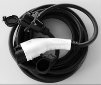 16amp 32amp 50amp SAE J1772 Extension Cord,240v extension cord plug & j1772 extension cable
