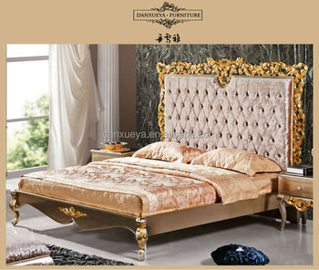 Wholesale French Style Furniture White Elegant Bedroom Sets Br001 ...