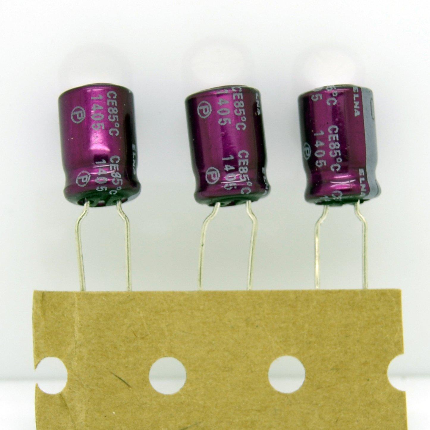 5pcs ELNA SILMIC II 100uF/16V 8*12mm Audio Electrolytic Capacitor