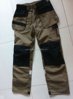 Mens Orange Work Pants Cargo Pants Work Trousers