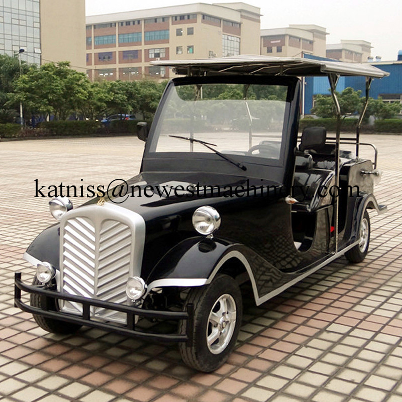 Battery Operated Classic Cars Panssengers Electric Car