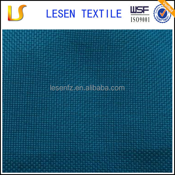 shanghai Lesen textile hot sale 600d poly dty oxford fabric for bag