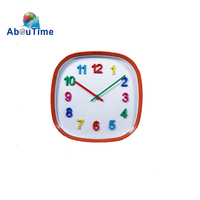 "12""inch Plastic lacquer craft furniture co wall clock"