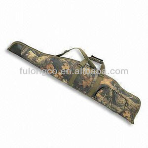 "Tactical Scoped Rifle Long Gun Case Padded Carry Bag BLACK 45"" X 13"" for AK"