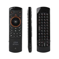 2.4GHz Mini IR Infrared Remote Control Wireless Fly Mouse Keyboard with Audio Function