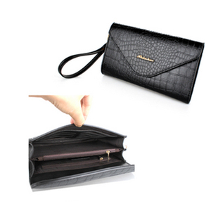 2016 Factory China Famous Designer Purse Elegant Dubai Online Shopping New Fashion Custom Gift Lady Genuine Leather Wallet