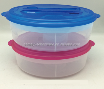 Bpa Free Plastic Storage Salad Mixing Bowl With Ice Pack Buy New