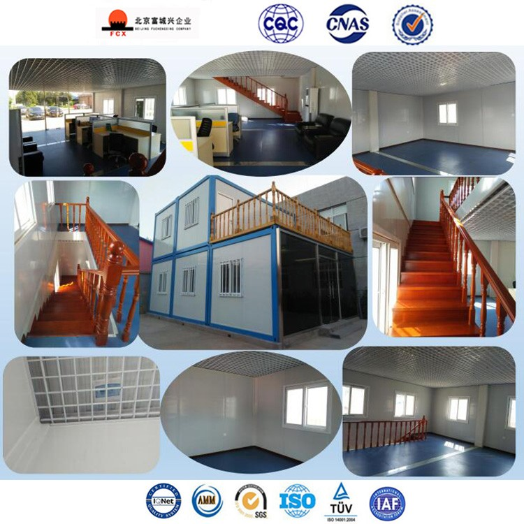 China Detachable Flat Pack Sandwich Panel Material Office Use Mobile Home