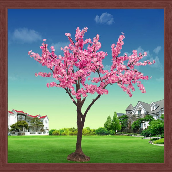 Led Tree Pink Color Light Up Cherry Blossom Tree Light For Outdoor ...