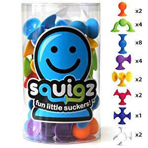 Fat Brain Toys Squigz- Starter Set Building Kit by Fat Brain Toys