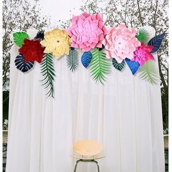Handcrafted Paper Flower Backdrop Home Decor Wall Art Diy Flower Backdrop Wedding Decoration Party Supplies Photo Booth Buy Paper Flower