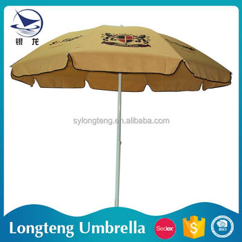 Custom design wind resistant sunshade big umbrella for Wind resistant material