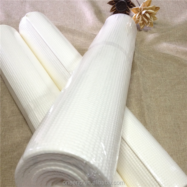 Private label PVC exercise white thick yoga mat with custom printed