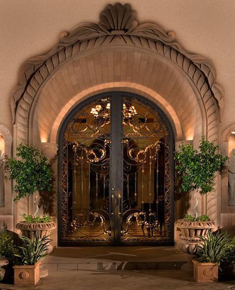 Restaurant entry door doors and commercial