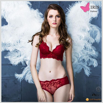30346c556 Fench Embroidery Lace Best Fashionable Ladies Fashion Thin Lovely Girl Bra  Panty Set Sexy Photos