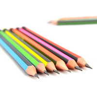 Promotional Bulk Lead Black HB Wooden Pencils With Eraser