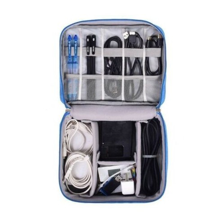 Travel Storage Bag Electronics USB Charger Case Data Cable Organizer