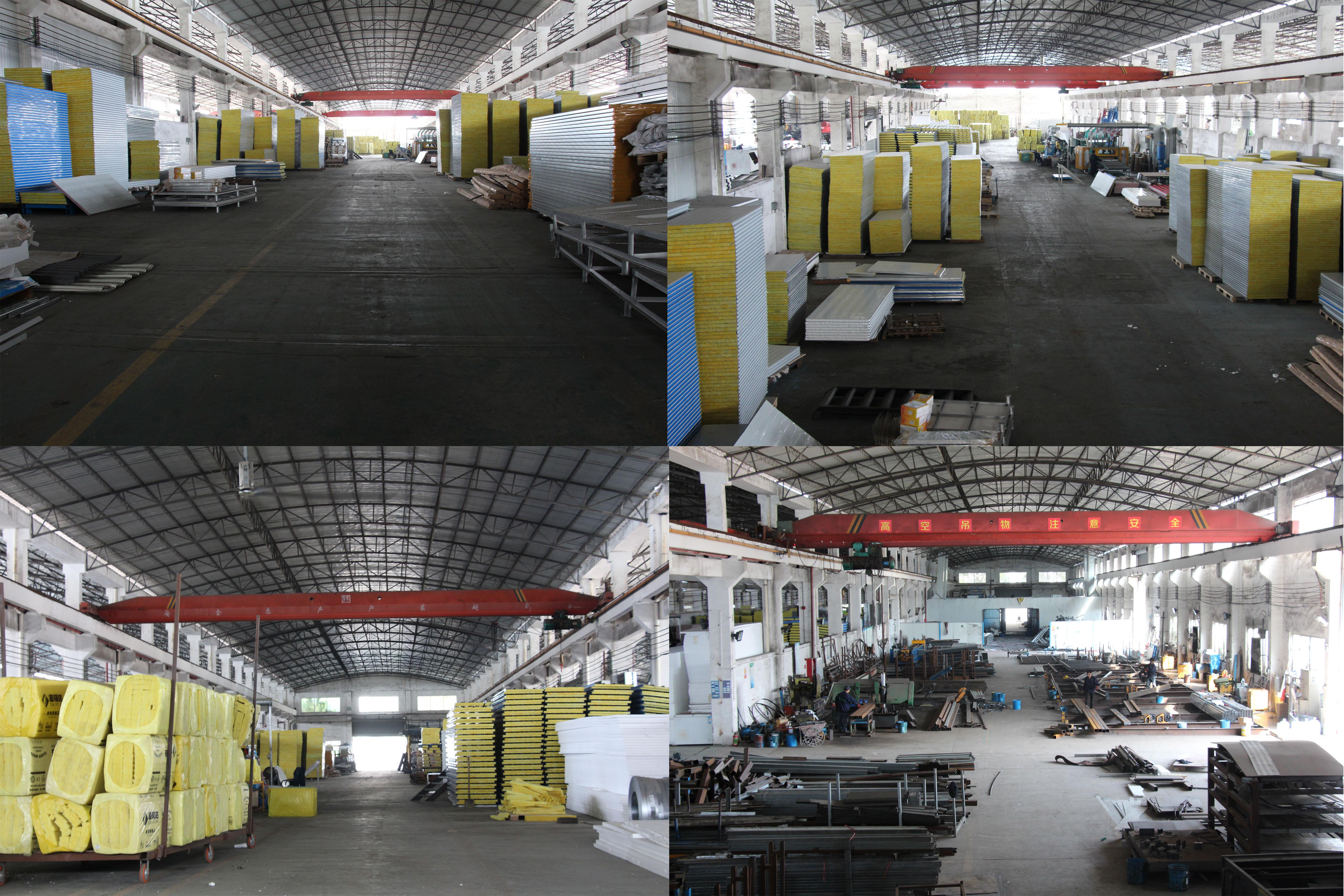 Chine jinpincheng entreprise maisons de conteneur de paquet plat maison maison maison de conteneur d'expédition de 40 pieds