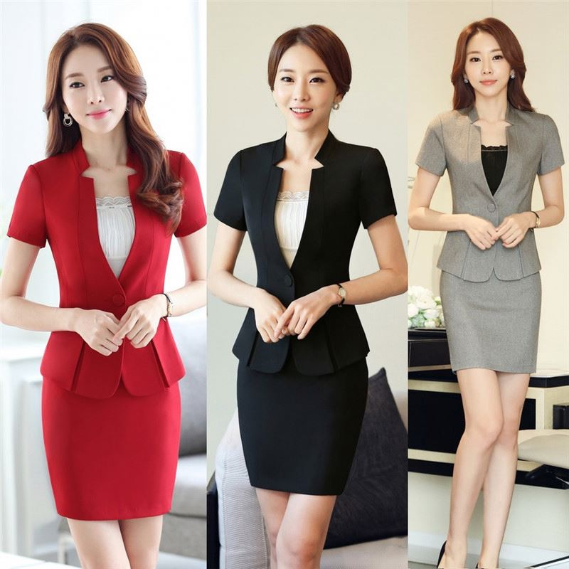 Newest Original Design Business Work Office Uniform Designs For Women Pants And Blouse