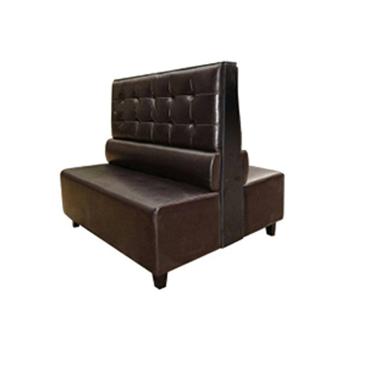 Double Sided Restaurant Leather Sofa Seat For Bench Product