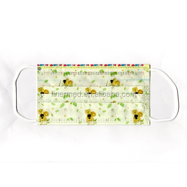 decorative custom printed surgical mask