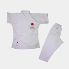 WKF approved high quality white karate gi for training comfortable karate uniform